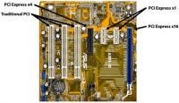 CONTOH SLOT PCI E DI PAPAN MAIN BOARD